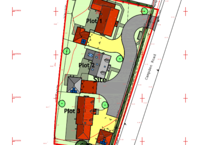 2.0.4.2 B Proposed Site Layout Plan Part A3L PLANNING ISSUE