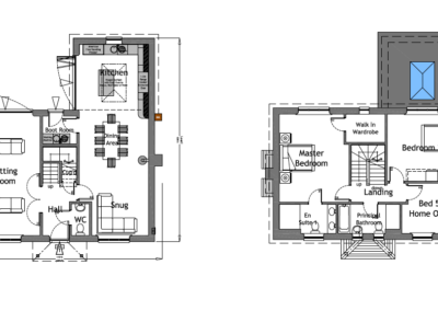 2H LH 2.10 + 2.11 C Plot 2 House Plans A1L PLANNING ISSUE