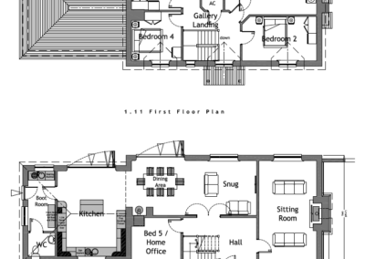 3H LH 2.10 + 2.11 C Plot 3 House Plans A1L PLANNING ISSUE